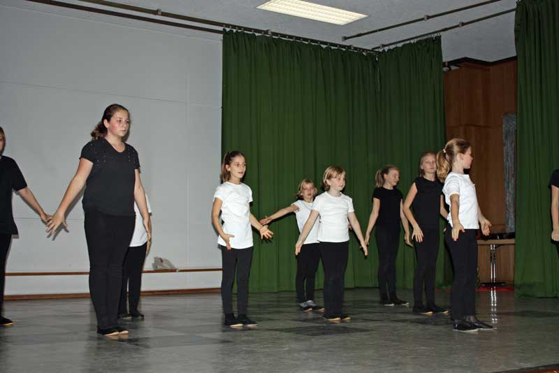 Tanzgruppe des SV Bogel