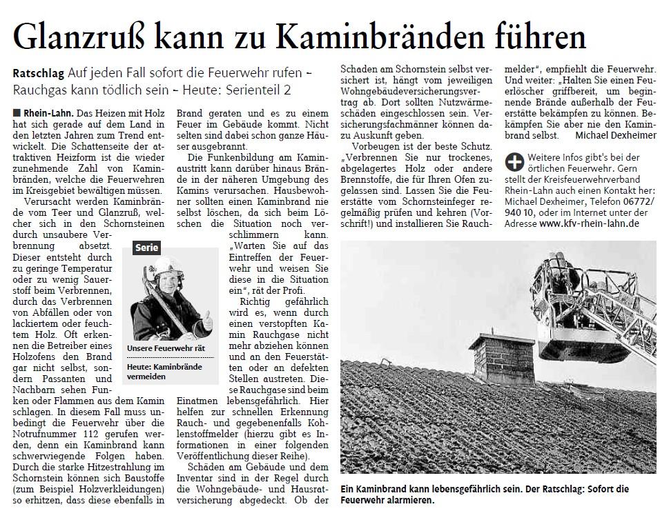 Rhein-Lahn Zeitung 07.03.2012
