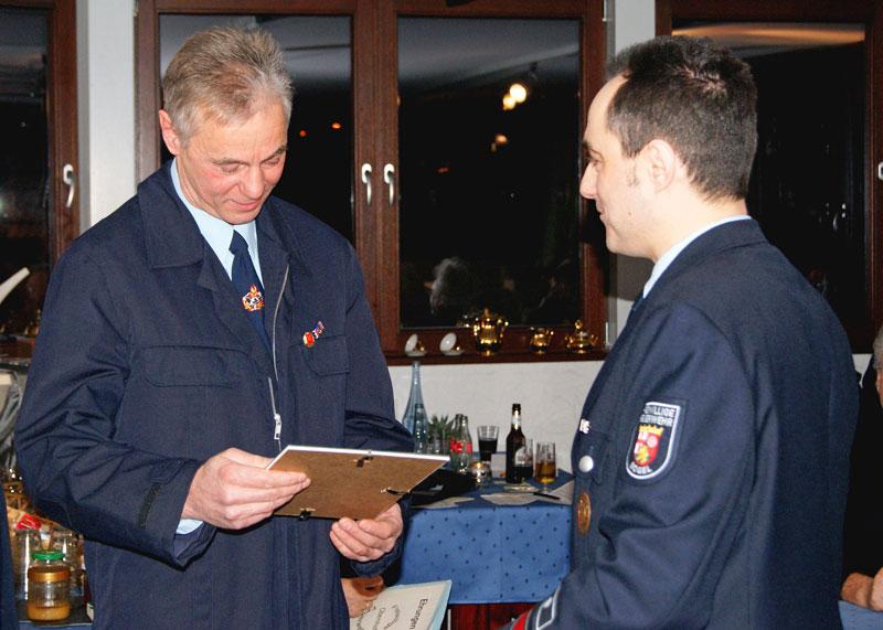 Michael Dexheimer gratuliert Karl-Friedrich Merz