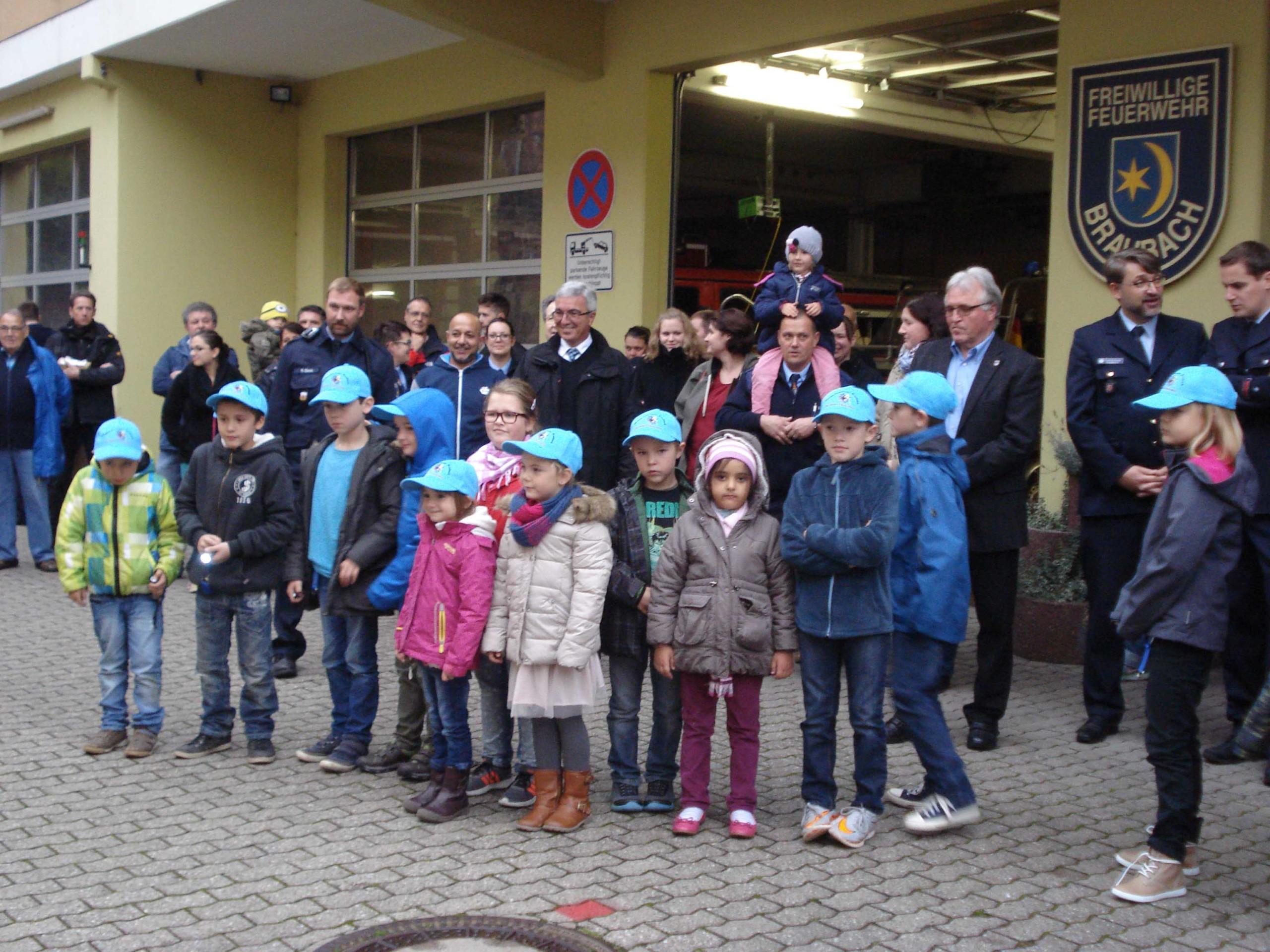 Bambini-Feuerwehr Braubach