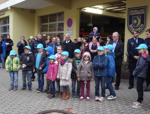 Bambini-Feuerwehr Braubach, eine ganz junge Gruppe mit aufsteigender Tendenz