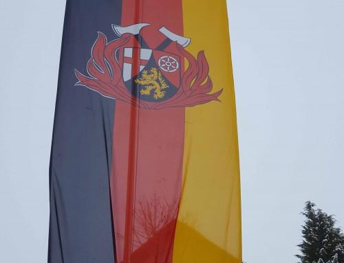 Fahne Landesfeuerwehrverband