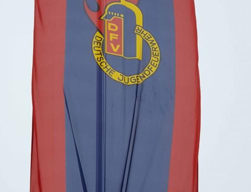 Fahne Deutsche Jugendfeuerwehr
