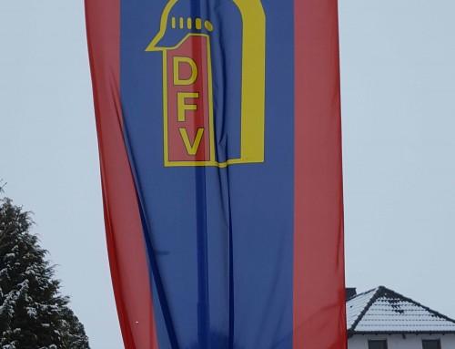 Fahne Deutscher Feuerwehrverband
