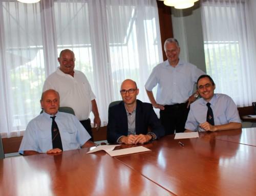 Süwag AG und Kreisfeuerwehrverband arbeiten zusammen