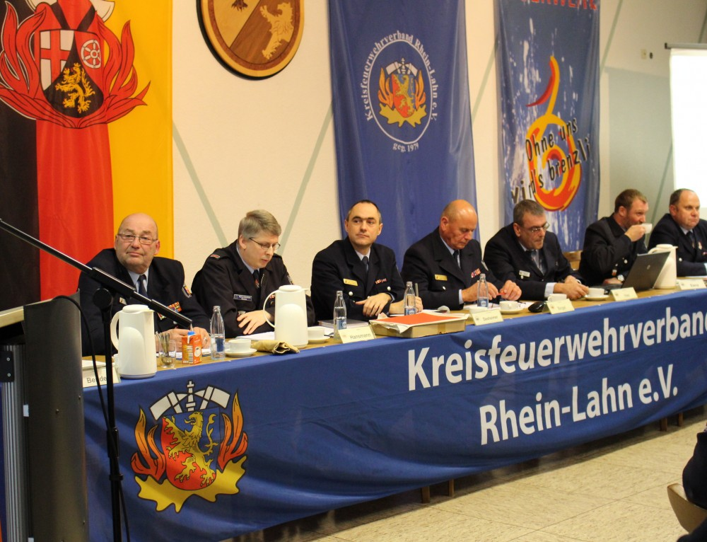 Delegiertenversammlung des Kreisfeuerwehrverbandes war von besonderer Bedeutung