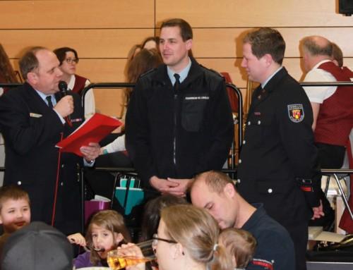 Wehrführer der Freiwilligen Feuerwehr Kaub als Jugendwart verabschiedet und geehrt