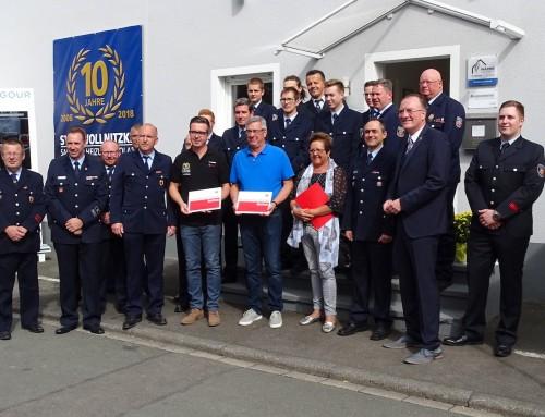 Zwei Betriebe in Kamp-Bornhofen als feuerwehrfreundlich ausgezeichnet