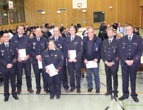 Kreisfeuerwehrverband seit einem Jahr unter neuer Führung