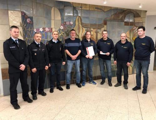 Drei Ehrungen für Nastättener Feuerwehrkameraden