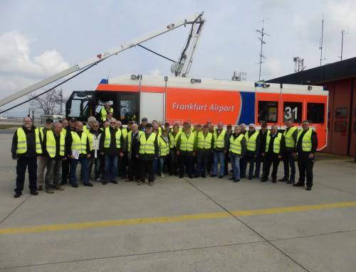 Alterskameraden aus Katzenelnbogen und Hahnstätten zu Besuch beim Flughafen Frankfurt