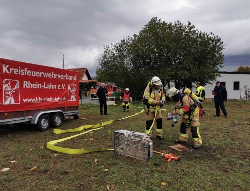 Guter Ausbildungsstand der Brandschützer überzeugte Wertungsrichter