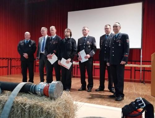 Ehrungen in der VG Bad Ems Nassau – Erstes Steckkreuz verliehen