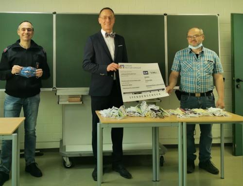 Großzügige Spende der Volksbank Rhein-Lahn Limburg eG