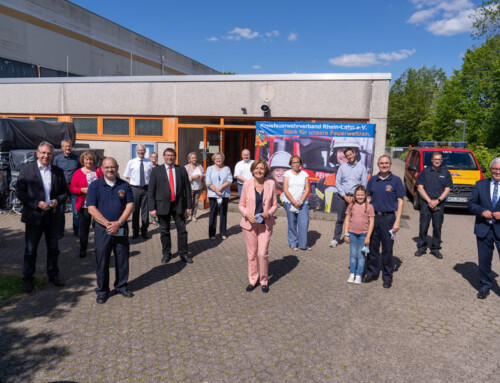 Ministerpräsidentin Malu Dreyer besucht den KFV Rhein-Lahn e.V.