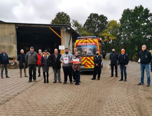 Fa. Kaspar aus Oelsberg ist Feuerwehren im Kreis da