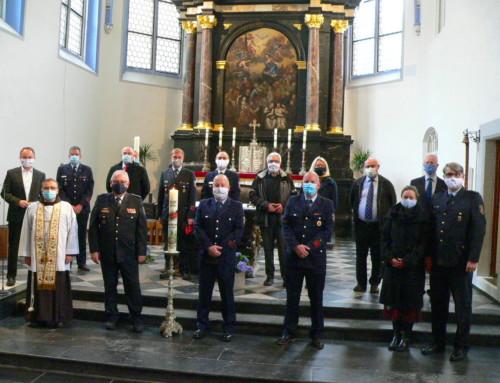 Gedenkandacht statt Mittelrheinische Feuerwehrwallfahrt