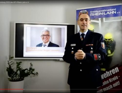 Feuerwehren des Rhein-Lahn Kreises trafen sich online