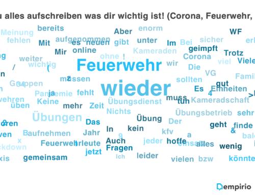 """Auswertung zur Umfrage """"Feuerwehr und Corona-Pandemie"""""""